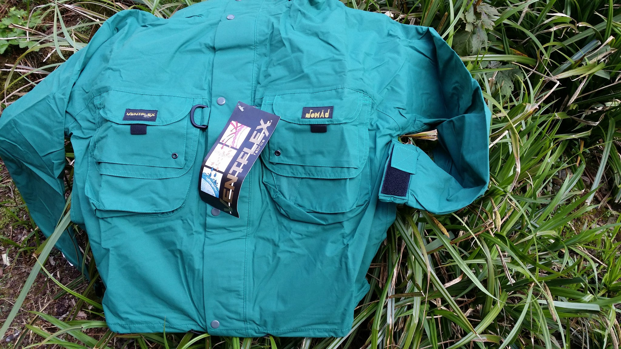 "The ""Stillwater"" Chest Wader Jacket"