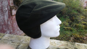 Adjustable Country Cap Olive Green