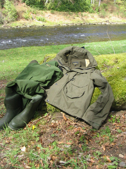 "The ""Nomad "" Chest Wader Jacket"""