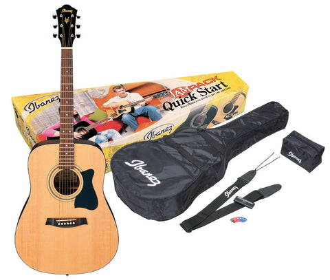 Ibanez Acoustic Jam Pack, Natural