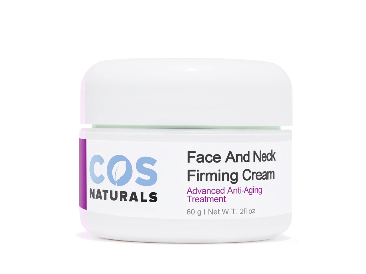 FACE AND NECK FIRMING CREAM Advanced Anti-Aging Treatment NATURAL & ORGANIC Ingredients For Wrinkles Fine Lines Saggy Skin Chest Body, 2 Oz