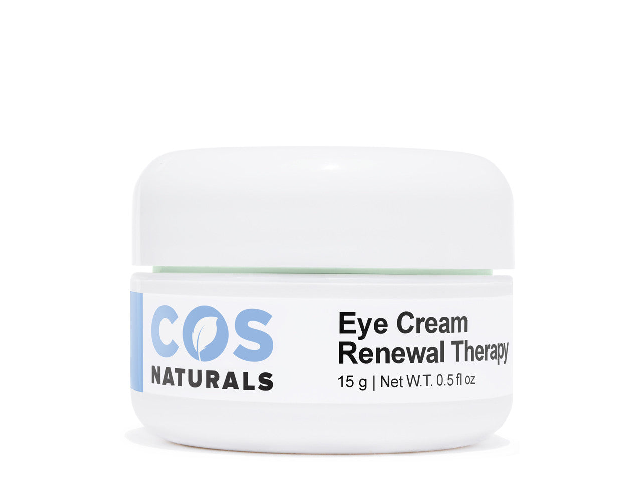 Renewal Therapy Eye Cream with Vitamin C E Hyaluronic Acid For Dark Circles Puffiness Fine Lines and Wrinkles, 0.5 fl.oz
