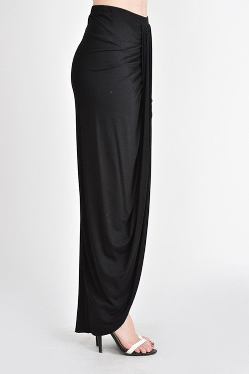 Ruche My Heart Maxi Skirt