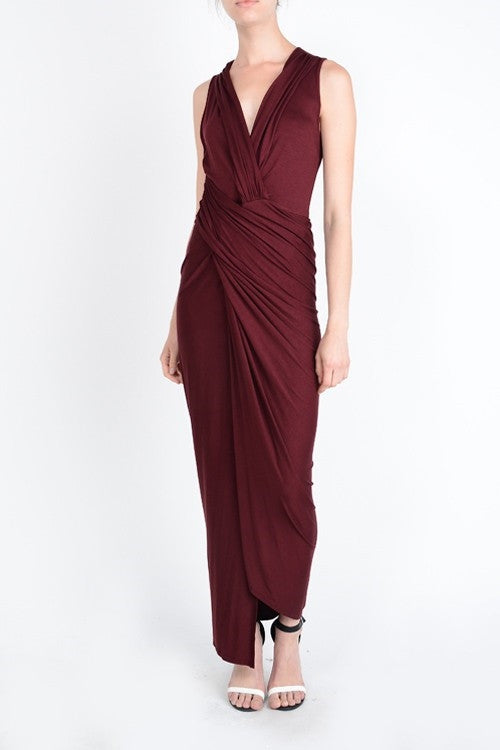 Wrap me Up Maxi Dress