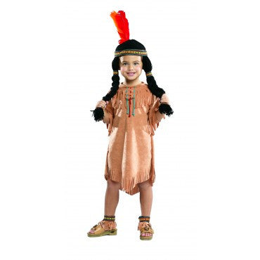 Girls Native American Costume