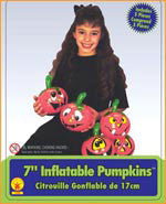 Inflatable Pumpkins (5 Pack)