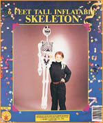 Inflatable Skeleton Decoration