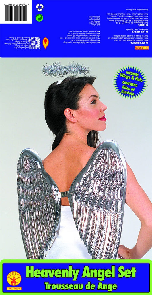 Silver Angel Costume Kit