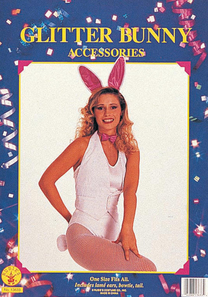 White & Pink Bunny Accessory Kit