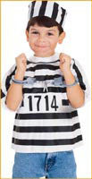 Boys Prisoner Costume Kit
