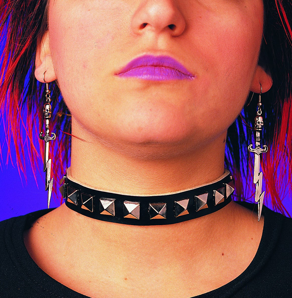 Womens Studded Choker