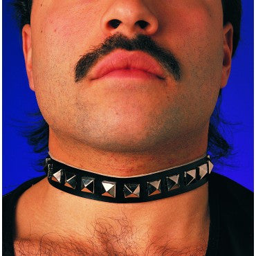 Mens Studded Choker
