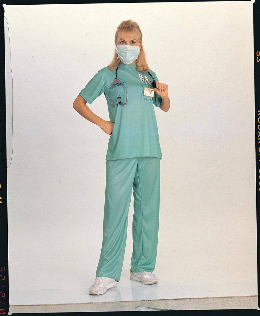 Womens ER Surgeon Costume