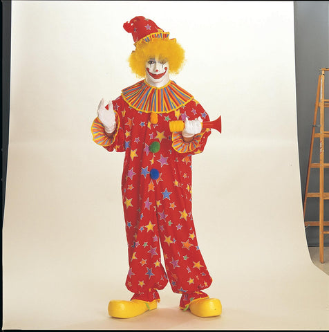 Adult Starburst Clown Costume
