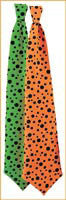 Neon Dotted Neck Ties - Various Colors