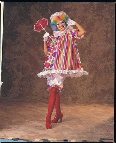 Womens Betty Brite Clown Costume