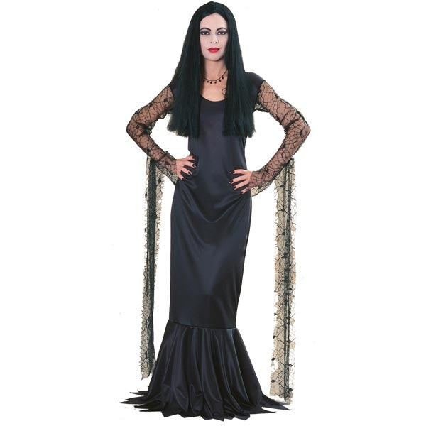 Womens Addams Family Morticia Costume