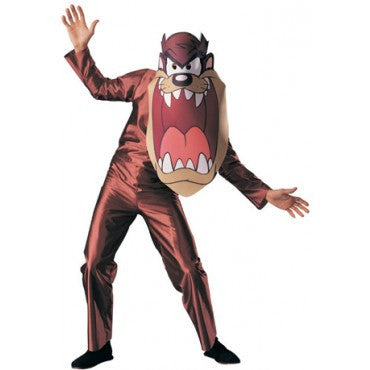 Mens Looney Tunes Tazmanian Devil Costume