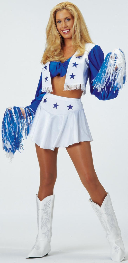 Womens Dallas Cowboys Cheerleader Costume