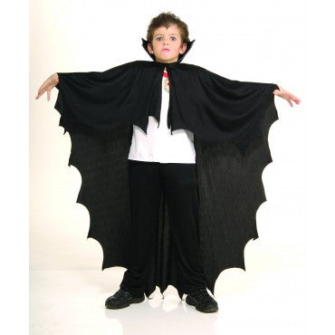 Kids Black Vampire Cape