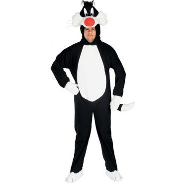 Mens Looney Tunes Sylvester Costume