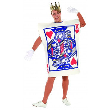 Mens King of Hearts Costume