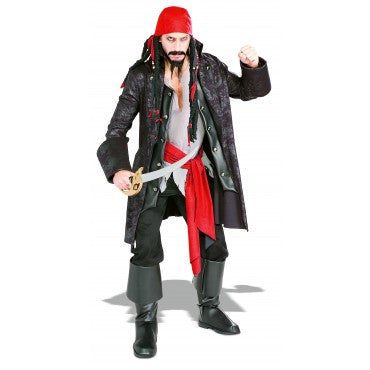 Mens Pirate Captain Cutthroat Costume