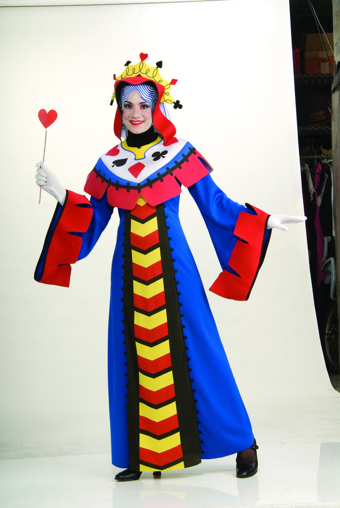 Womens Playing Card Queen Costume