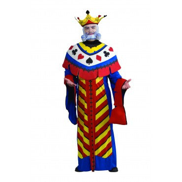 Mens King Playing Card Costume
