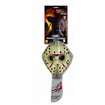 Friday the 13th Jason Mask and Machete Kit