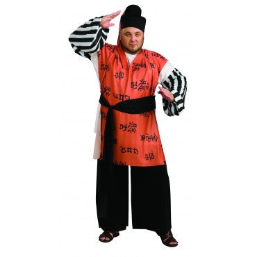 Mens Plus Size Samurai Warrior Costume