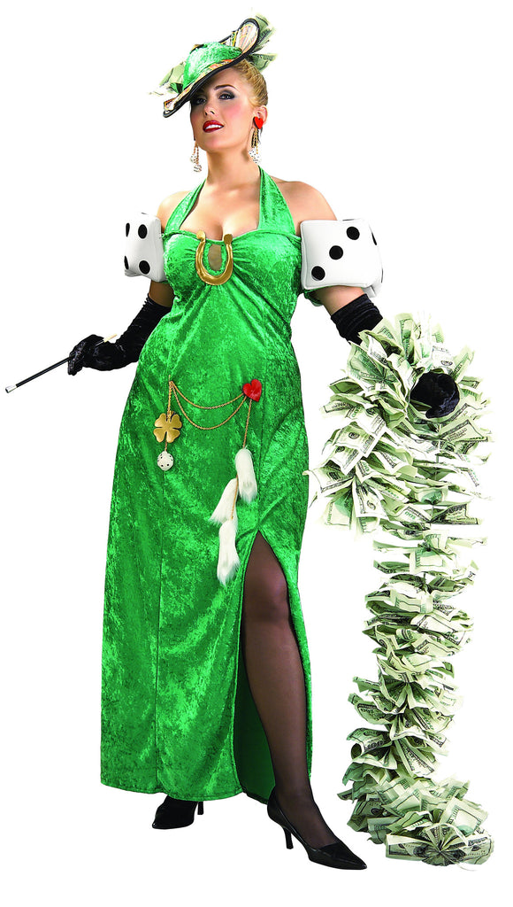 Womens Plus Size Lady Luck Costumes