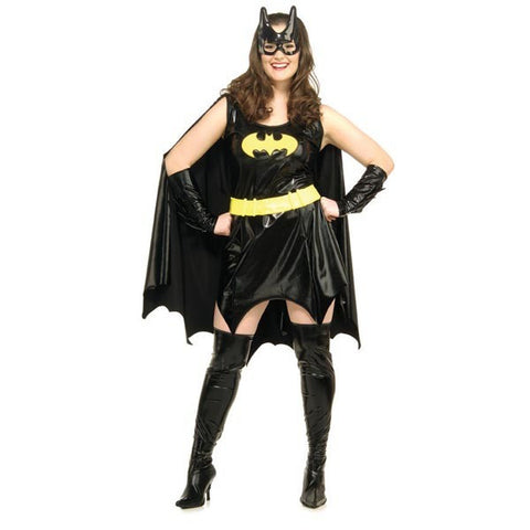 Womens Batman Plus Size Batgirl Costume