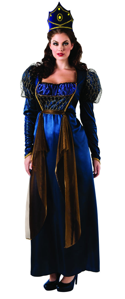 Womens Plus Size Renaissance Queen Costume