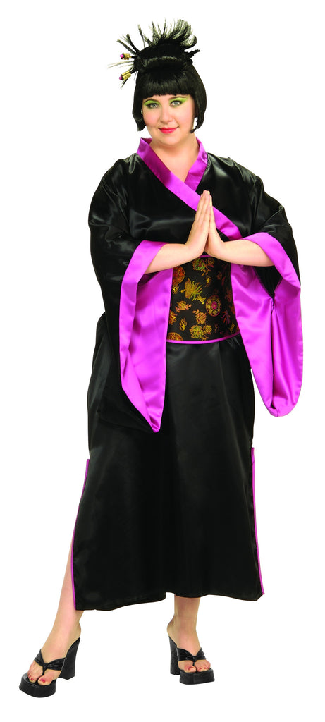 Womens Plus Size Geisha Costume