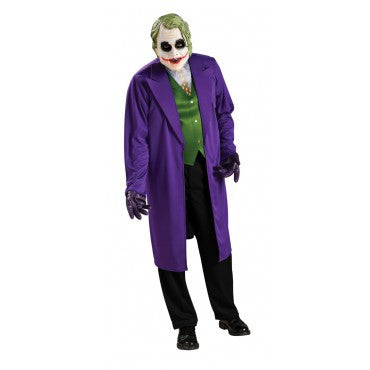 Mens Plus Size Batman Joker Costume