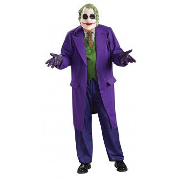 Mens Plus Size Batman The Joker Costume