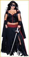 Womens Plus Size Zorro Costume