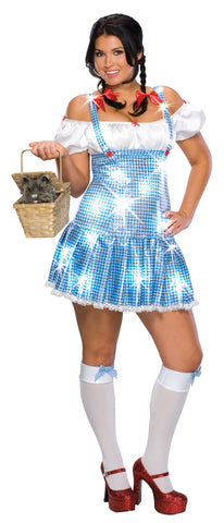 Womens Plus Size Wizard of Oz Dorothy Costume