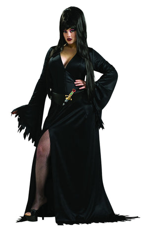 Womens Plus Size Elvira Costume
