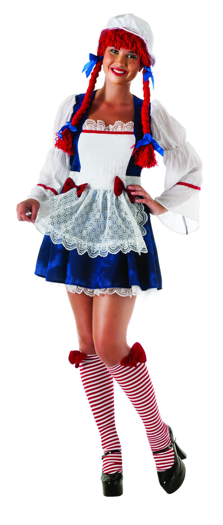 Womens Plus Size Ragdoll Costume