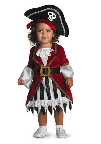Infant's Pirate Girl Costumes 12-18 Months