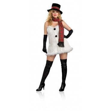 Womens Plus Size Frostbitten Costume