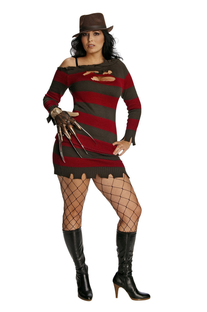 Womens Plus Size Nightmare on Elm Street Miss Krueger Costume