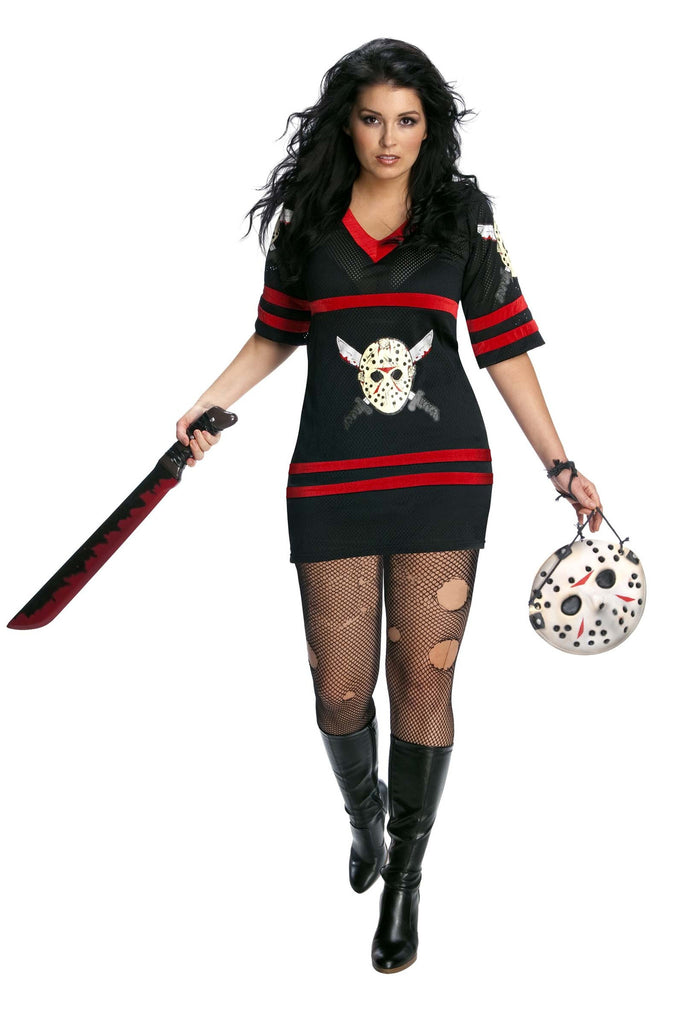 Womens Plus Size Friday the 13th Jason Costume