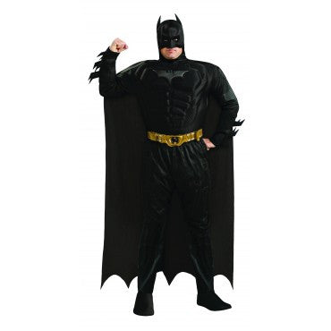 Mens Plus Size Deluxe Batman Costume