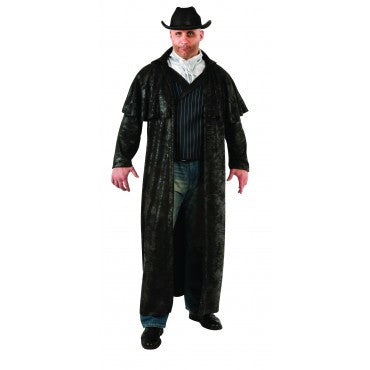 Mens Plus Size Gunslinger Cowboy Costume