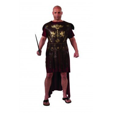 Mens Plus Size Roman Gladiator Costume