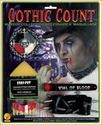 Gothic Count Makeup Stack