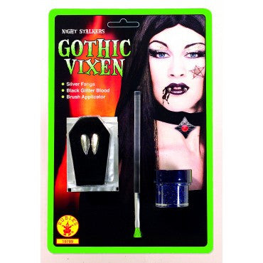 Goth Blood and Fangs Makeup Set